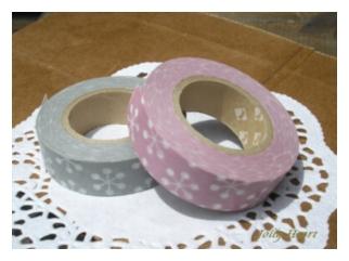 紙物 マスキングテープ 北欧調 結晶 [k-mas-09]