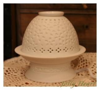 陶器、ガラス セレック アロマランプ 風花 [A-H-pot1]