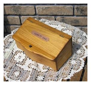 木製小物 プレートサインBOX [ZY-37]