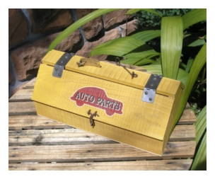 木製小物 オートツールボックス [ZY-01]