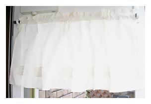 カーテン オリジナル ボイル カフェカーテン [JH-B-01]