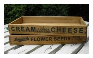 木製小物 Homestead ボックス [HW08]