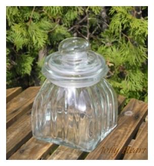 陶器、ガラス グラスジャー スレンダーS [4-Mar]