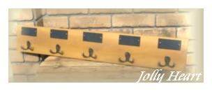 フック類 ファーウッド ボード付きフックL [6-Mar]