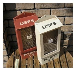 木製小物 PO BOX [ZY-40]