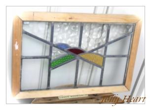 アンティーク ステンドグラス