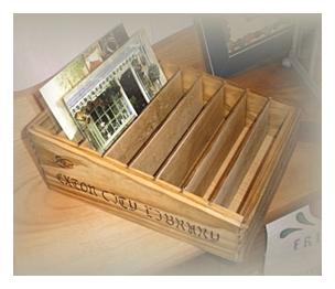 木製小物 カードBOX [ZY-32]