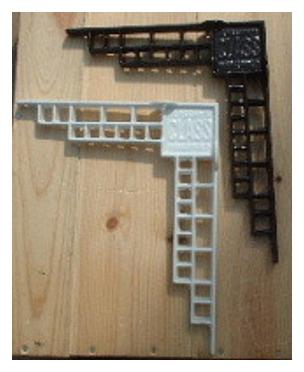 倉敷意匠 鉄鋳物 ブラケット L