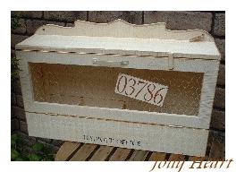 木製小物 メイルボックス [ZY-07]