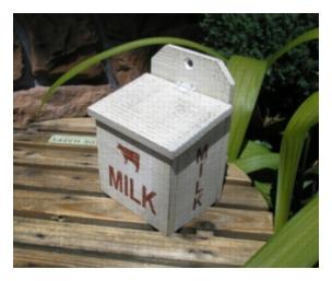 木製小物 ミルクボックス [ZY-21]