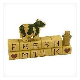 ディスプレイ雑貨 フレッシュミルク [A-6]