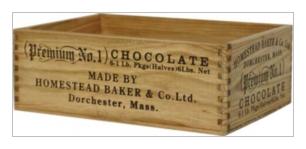 木製小物 Homestead チョコレートボックス [HW03]