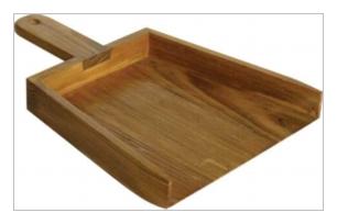 木製小物 Homestead イングリッシュダストパン [HW04]
