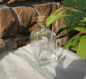 陶器、ガラス ボトル オリーブ [GW-07]