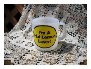 グラスベイク Hot Lemon