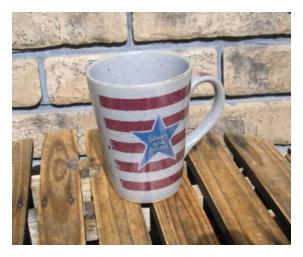 陶器、ガラス ロングマグカップ フラッグ [longf]