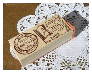 フランス切手&エッフェルWスタンプ
